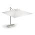 Shade Pro Offset umbrella - / 323 x 303 cm by Emu