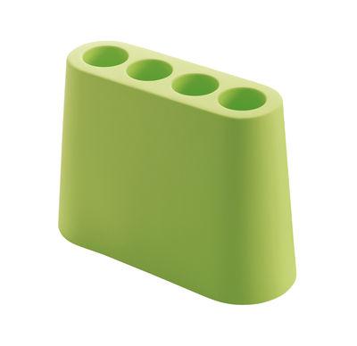 Porte-parapluies Aki - B-LINE vert en matière plastique
