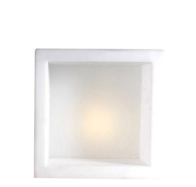 Arredamento - Scaffali e librerie - Scaffale luminoso Open Cube - luminoso di Slide - Bianco- 43 x 43 cm - polietilene riciclabile