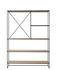 Scaffale Planner Large - / MC520 - L 121 x H 165 cm di Fritz Hansen