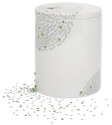 Dekoration - Vasen - Surface 01 - Petit pois Schachtel - Domestic - Porzellan mit Grafik - Porzellan