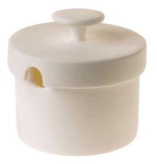 Cuisine - Sucriers, crémiers - Sucrier Sucrier Polka - ENOstudio - Blanc - Porcelaine Bone China