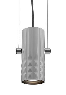 Luminaire - Suspensions - Suspension Fiamma / Ø 6 cm - Artemide - Gris - Métal
