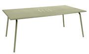Table rectangulaire Monceau 194 x 94 cm 8 personnes Fermob tilleul en métal