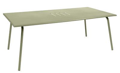 Table Monceau / 194 x 94 cm - 8 personnes - Fermob tilleul en métal