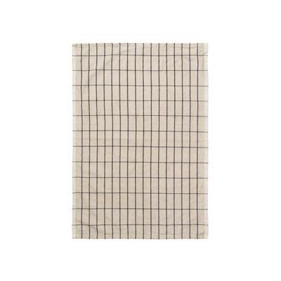 Torchon Hale / 50 x 70 cm - Ferm Living sable en tissu