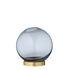 Globe Small Vase - / Ø 10 cm - Glass & brass by AYTM
