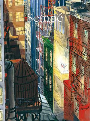 Déco - Objets déco et cadres-photos - Affiche Sempé Danseuse Balcon / 40 x 50 cm - Image Republic - Danseuse Balcon - Papier