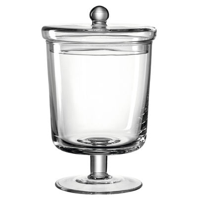 Cucina - Lattine, Pentole e Vasi - Barattolo di caramelle Poesia - / Ø 15 x H 23 cm - Vetro di Leonardo - Ø 15 cm / Trasparente - Vetro
