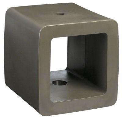 Outdoor - Tavolini - Base da ombrellone Cube di Symo - Cubo talpa - Polietilene