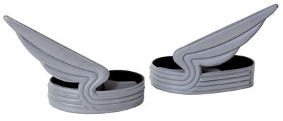 Accessories - Home Accessories - Windrider Bicycle clips by ENOstudio - Grey - PVC