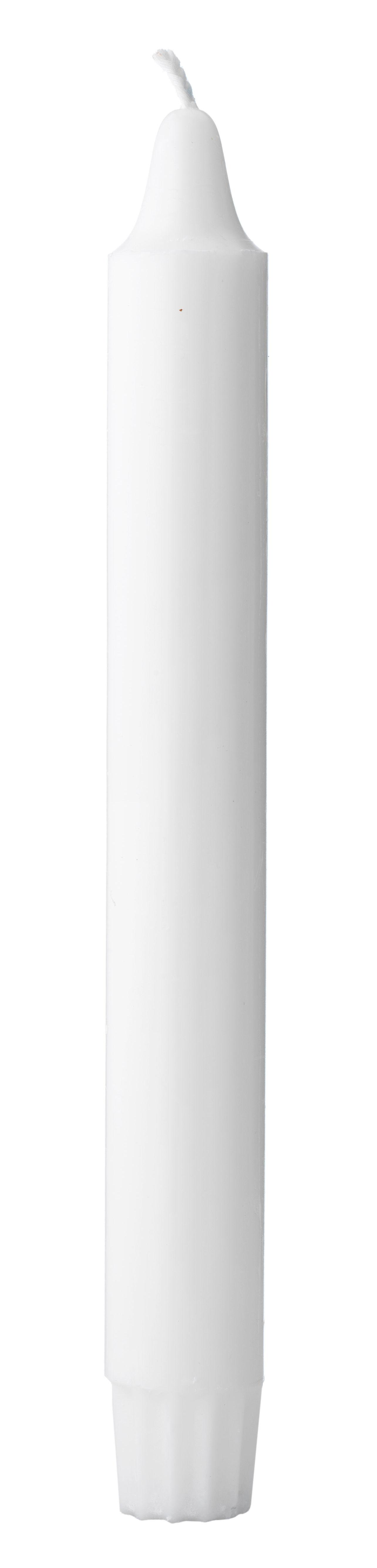 Interni - Candele, Portacandele, Lampade - Candela lunga - / Set 16 elementi di by Lassen - Bianco / 16 elementi - Cera
