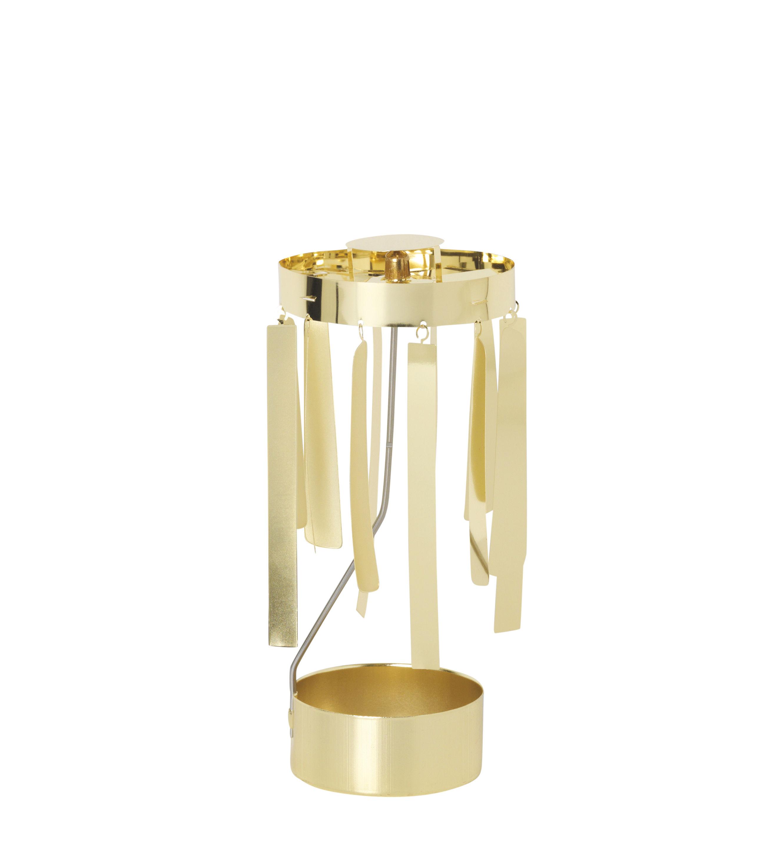 Dekoration - Dekorationsartikel - Tangle Carillon de Noël - Ferm Living - Goldfarben - Metall