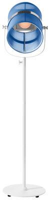Lampadaire solaire La Lampe Paris LED / Sans fil - Maiori blanc,bleu royal en métal
