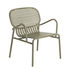 Week-End Low armchair - / Stackable - Aluminium by Petite Friture
