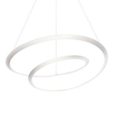 Lighting - Pendant Lighting - Kepler Uplight LED Pendant - / Ø 110 cm by Nemo - White - Extruded aluminium