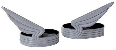 Accessoires - Pratique et malin - Pince à vélo Windrider / Pour pantalon - Set de 2 - ENOstudio - Gris - PVC
