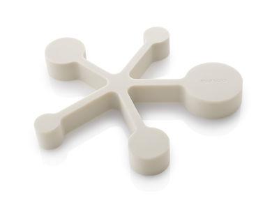 Tavola - Sottopiatti - Sottopentola - / Cucchiai dosatori integrati - Silicone morbido di Eva Solo - Bianco - Silicone morbido