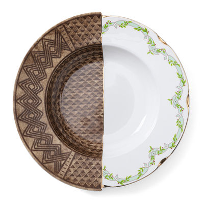 Tableware - Plates - Hybrid Malao Soup plate - / Ø 25 cm by Seletti - Malao - China
