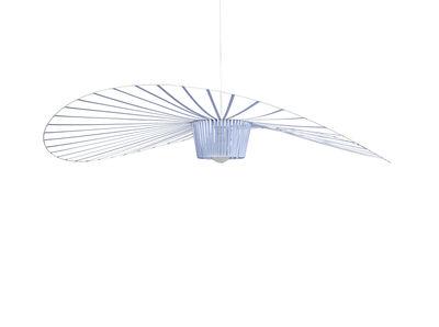 Suspension Vertigo Large / Ø 200 cm - Edition spéciale 5 ans - Petite Friture bleu clair en matière plastique