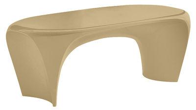 Table basse Lily - MyYour beige mat en matière plastique