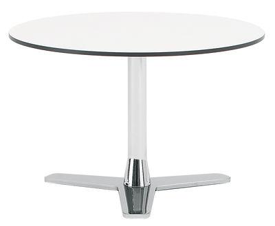 Table basse Propeller Offecct blanc en métal
