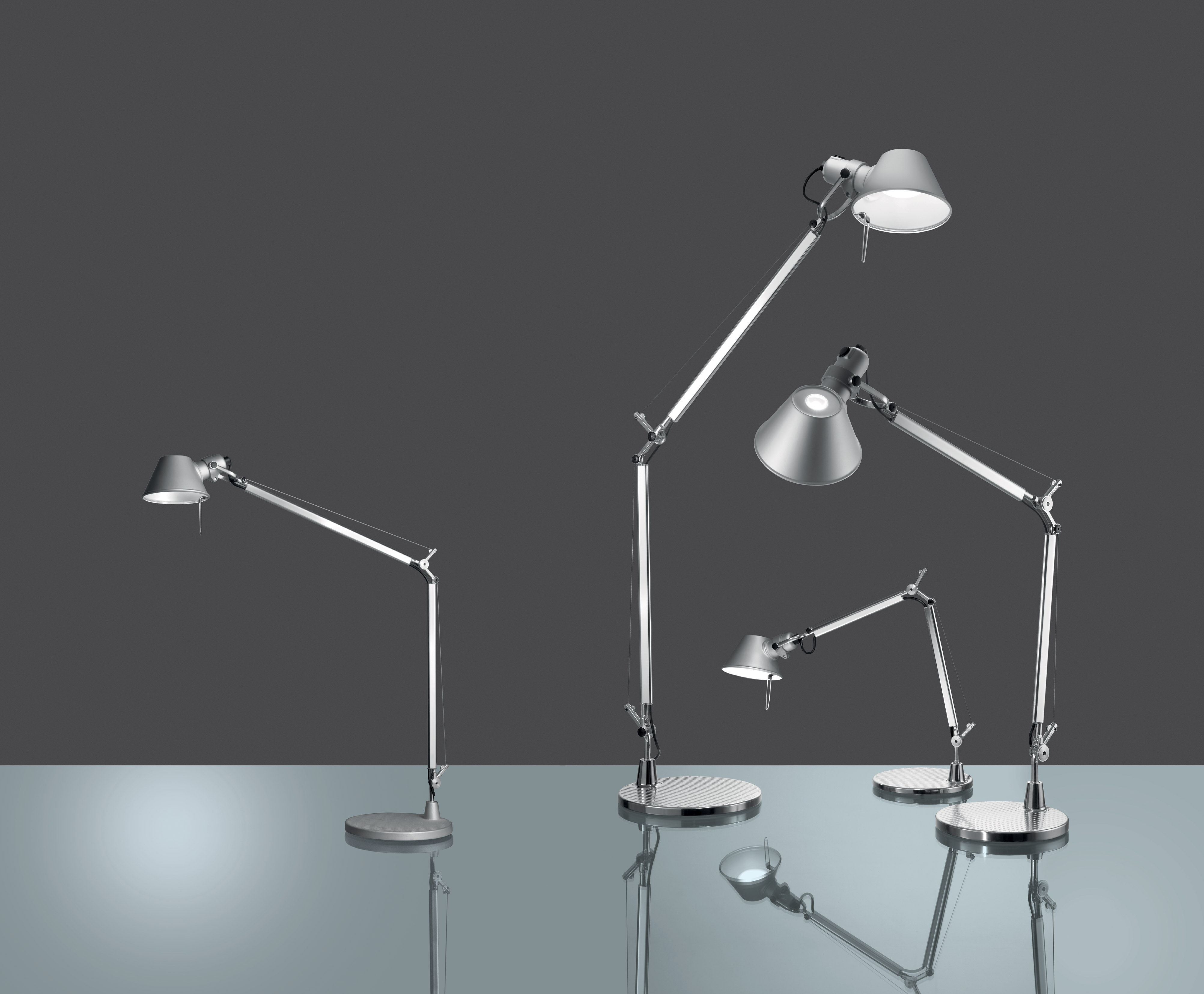 By Table Led Artemide Lamp Midi Tolomeo ymNP8Ov0nw