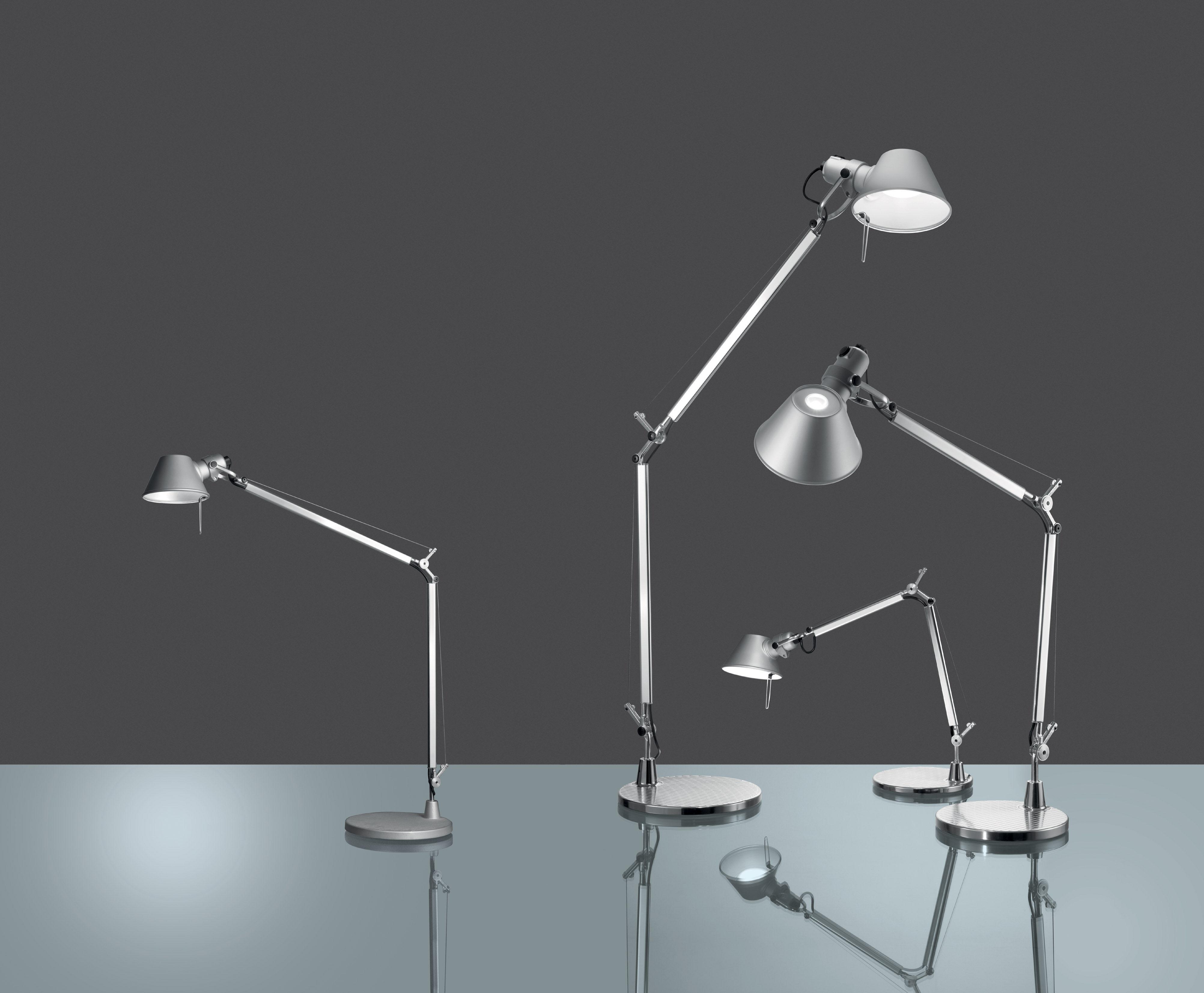 Led Artemide Tolomeo Table Lamp By Midi OwPuTlkXZi