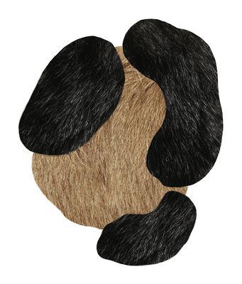 Déco - Tapis - Tapis Bearded Leopard 1 / Large - 206 x 249 cm - Moooi Carpets - Large / Beige & noir - Laine