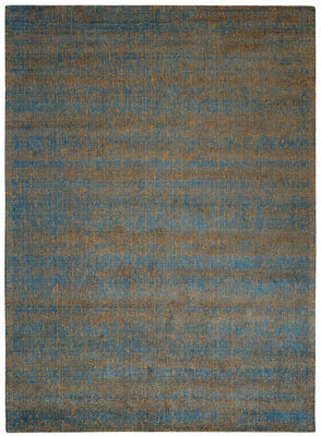Métissage Teppich / 170 x 240 cm - Toulemonde Bochart - Blau,Braun