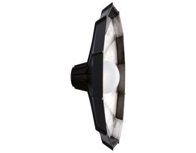 Luminaire - Appliques - Applique Mysterio Ø 31 cm / Plafonnier - Diesel with Foscarini - Noir / Argent - Polycarbonate