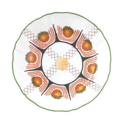 Arts de la table - Assiettes - Assiette Bel Paese - Arancia / Ø 20,5 cm - Bitossi Home - Orange - Porcelaine