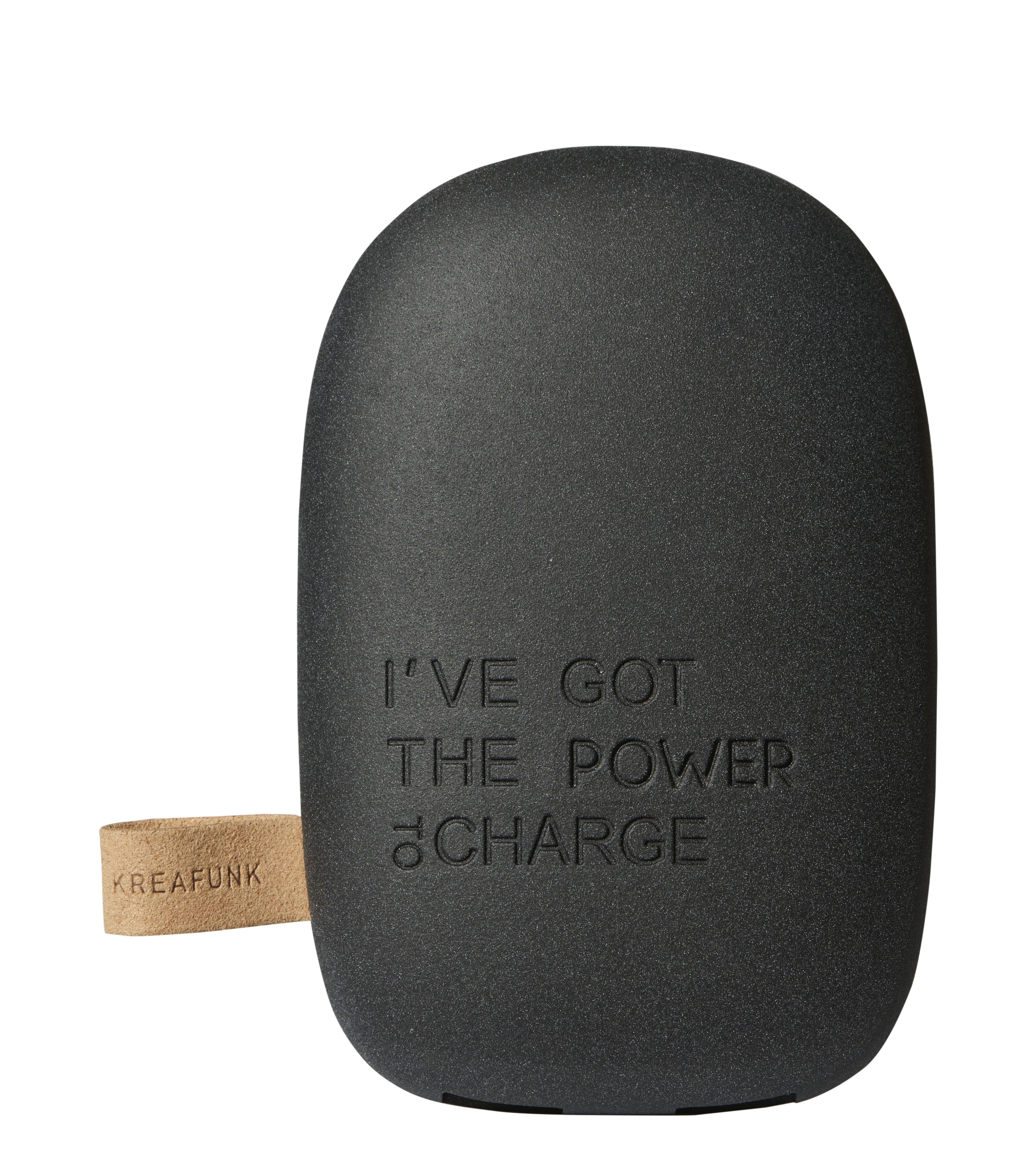 Accessoires - Objets connectés, accessoires high tech - Batterie de secours toCharge / Portable - iPhone & smartphone - Kreafunk - Noir - Matière plastique