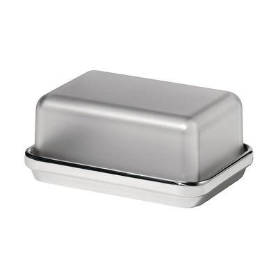 Beurrier ES03G Acier plastique Alessi gris,acier poli en métal