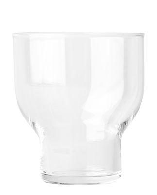 Tavola - Bicchieri  - Bicchiere Stackable Glass / 27 cl - H 9,5 cm - Menu - Trasparente - Vetro soffiato a bocca