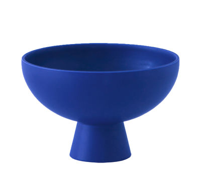 Tableware - Bowls - Strøm Large Bowl - / Ø 22 cm - Handmade ceramic by raawii - Horizon blue - Ceramic