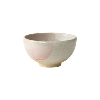 Tableware - Bowls - Wabi Bowl - / Ø15.5 x H 9 cm - Handmade stoneware by Jars Céramistes - Pink - Enamelled sandstone