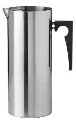 Arts de la table - Carafes et décanteurs - Carafe Cylinda-Line / 2 L - Arne Jacobsen, 1967 - Stelton - Acier - Acier inoxydable, Bakélite