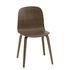 Visu Chair - / Wooden legs by Muuto