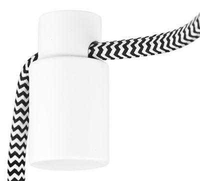 Luminaire - Ampoules et accessoires - Kit de décentralisation pour câble électrique / Pour appliques et suspensions - It's about Romi - Blanc - Acier peint