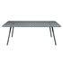 Luxembourg rechteckiger Tisch / 8 Personen - 207 x 100 cm - Aluminium - Fermob