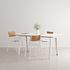 New Modern Rectangular table - / 160 x 95 cm - Laminate / 6 to 8 people by TIPTOE