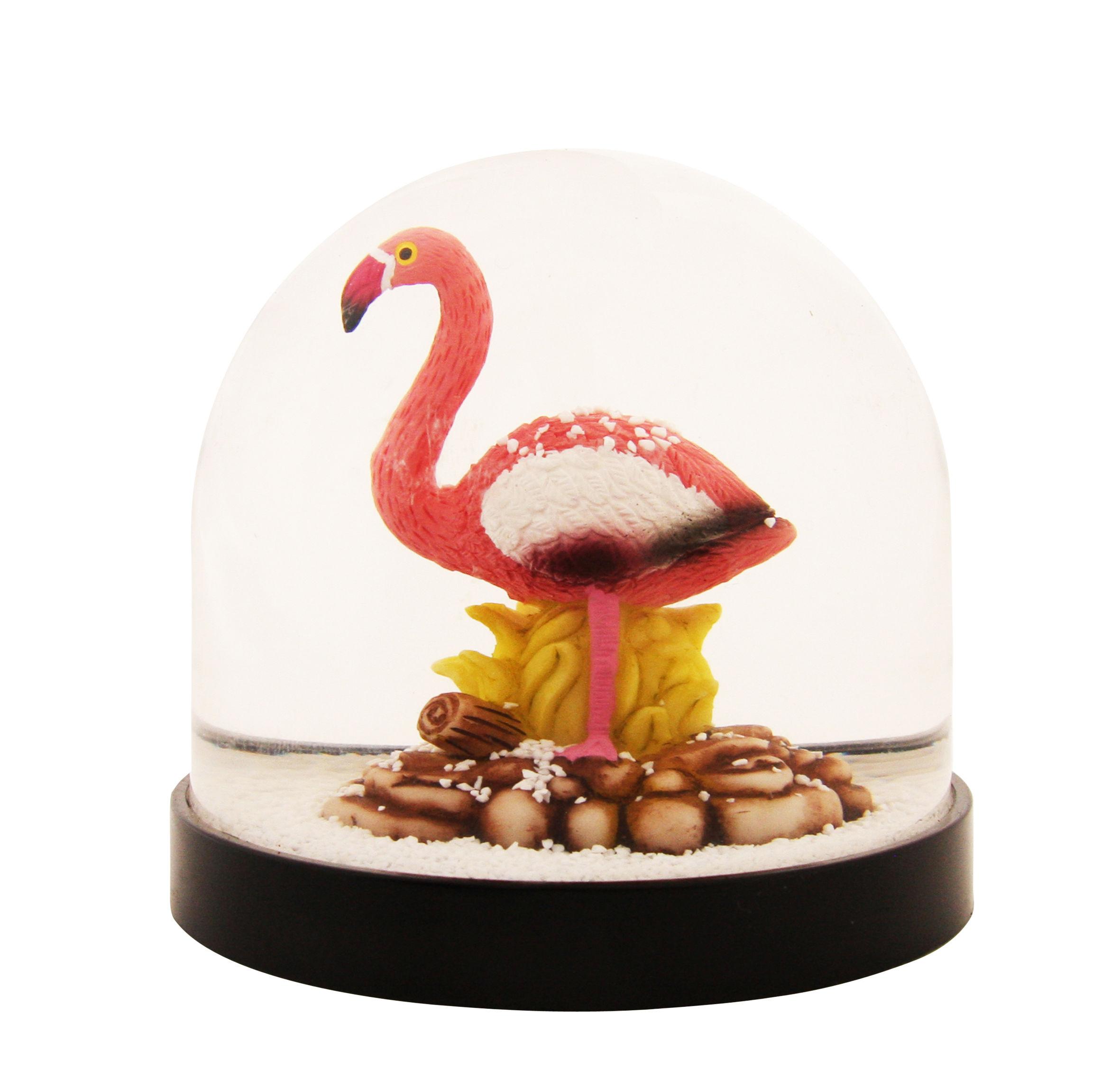 Dekoration - Für Kinder - Schneekugel / Flamingo - & klevering - Flamingo - Plastik