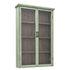 Shelf - / Wall storage - L 81 x H 122 cm / Wood & glass by Bloomingville
