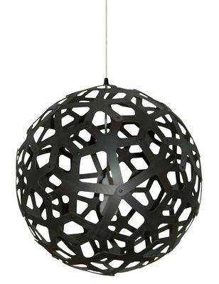 Illuminazione - Lampadari - Sospensione Coral - Ø 60 cm - Nero - Esclusiva web di David Trubridge - Nero - Pino