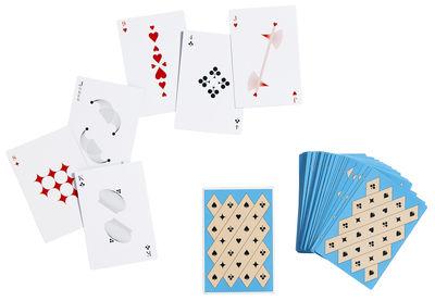 Dekoration - Für Kinder - Spielkarten / Spiel mit 54 Karten - Hay - Blau - Carton plastifié