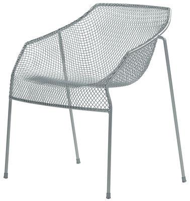 Heaven Stapelbarer Sessel - Emu - Aluminium