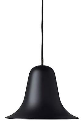 Suspension Pantop / Ø 30 cm - Verner Panton (1980) - Verpan noir en métal