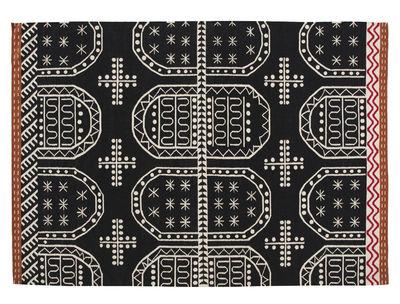 Tapis Kilim Tasili / 240 x 170 cm - Gan noir en tissu