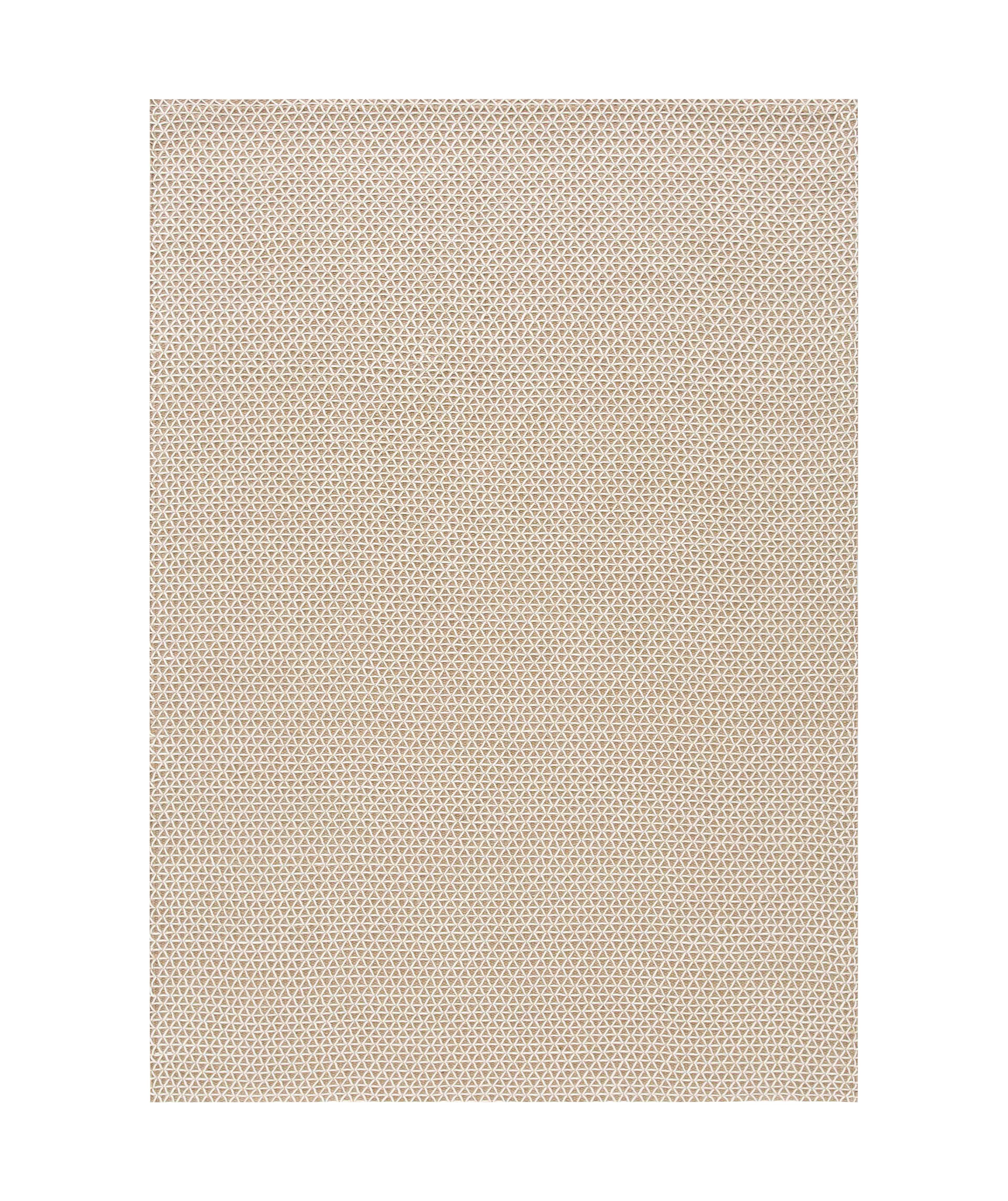 Interni - Tappeti - Tappeto Raw / 170 x 240 cm - Iuta & lana - Gan - Bianco/ Iuta naturale - Jute naturelle, Lana